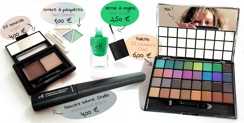achat maquillage Eyes Lips Face