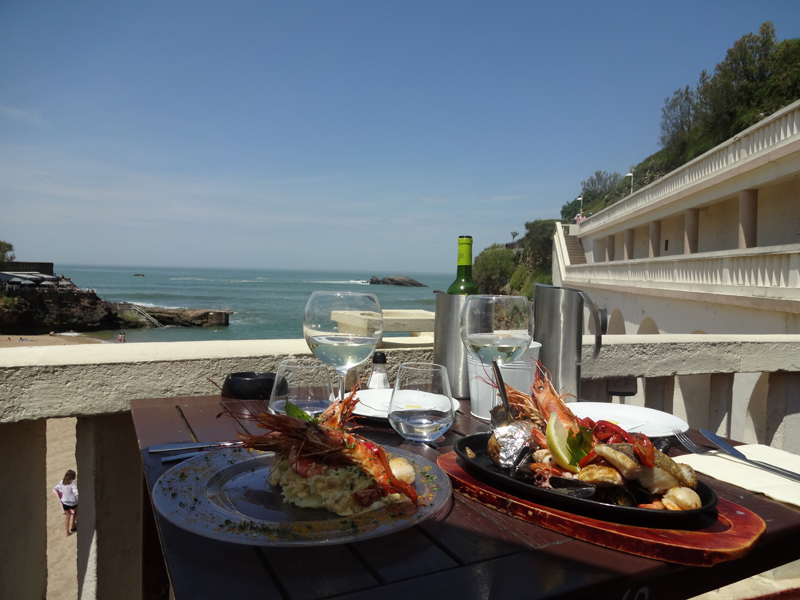 Biarritz photo au restaurant Arena Café