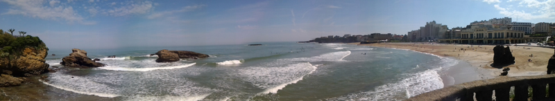 Photo prise à Biarritz en juin 2013
