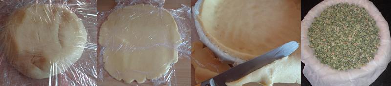 Etape pour faire une pâta à tarte aux amandes